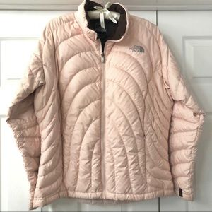 Authentic North Face Quilted Jacket